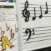 【パーティD】おんていクイズをマグネット音符で!
